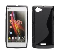 ForCell Zadní Kryt Lux S Black pro Sony C2105 Xperia L