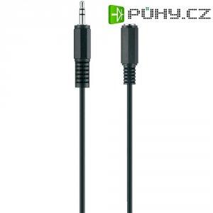 Připojovací kabel Belkin, jack zástr. 3.5 mm/jack zástr. 3.5 mm, černý, 3 m