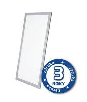 LED panel, 30W, 30x60cm, 2000lm, 4000K, stříbrný rám, LP02