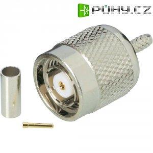 Konektor TNC Reverse BKL Electronic 419402, 50 Ω, zástrčka rovná