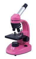 Mikroskop LEVENHUK RAINBOW 50L NG růžová