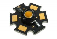 LED 5W PCB bílá teplá,195lm/1400mA,110° 3,6V 20x7