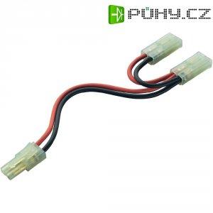 Y kabel akumulátoru paralelní s Mini-Tamiya konektory Modelcraft