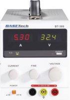Laboratorní síťový zdroj Basetech BT-305, 0 - 30 V/DC, 0 - 5 A