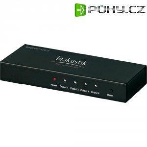 HDMI spliter, 1x vstup, 4x výstup, Inakustik