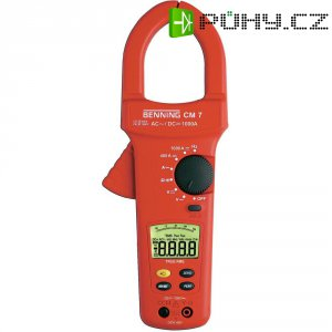Klešťový ampérmetr Benning CM 7