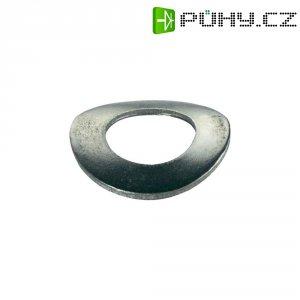 Pružné podložky TOOLCRAFT A2 D137-A2 192069 DIN 137, Ø: 2,2 mm/4,5 mm, ušlechtilá ocel, 100 ks