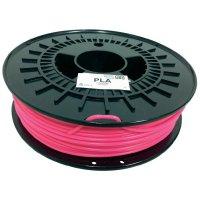 Náplň pro 3D tiskárnu, German RepRap 100252, PLA, 3 mm, 750 g, růžová
