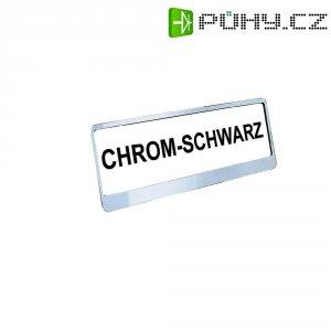 SPZ držák MHW Styling, chromovaný, 2 ks
