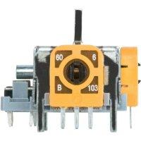 3D joystick se spínačem 98002C1, pájecí piny, 12 V/DC, 1 ks