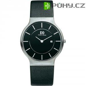 Ručičkové náramkové hodinky Danish Design, 3314372, kožený pásek
