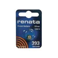 Knoflíková baterie na bázi oxidu stříbra Renata SR48, velikost 393, 80 mAh, 1,55 V