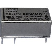 Signálové relé Reed DR 1 A 12 V/DC 1 přepínací kontakt Panasonic DR12SDS 1 ks