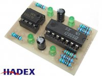 Tester časovačů NE555 a NE556 STAVEBNICE