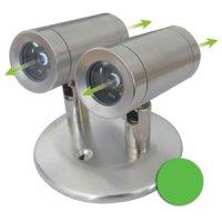 Svítidlo LED nástěnné 3044 zelené