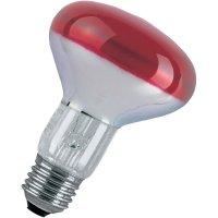 Žárovka Paulmann 25061, E27, 230 V, 60 W, červená, 1 ks