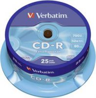 CD-R 80 700 MB Verbatim 43432 25 ks vřeteno