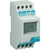 Digitální spínací hodiny na DIN lištu Suevia Data Micro, 230 V/AC, 2x UM