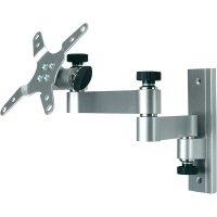 """Teleskopický držák TFT/LCD monitoru, 33 - 76 cm (13\"""" - 30\""""), stříbrná"""