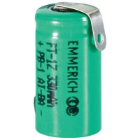 Akumulátor NiMH Emmerich 1/2 AAA 330 mAh, ZLF