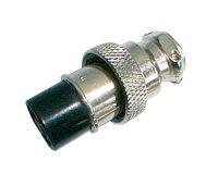 Zdířka MIC kabel kov 3PIN šroubovací