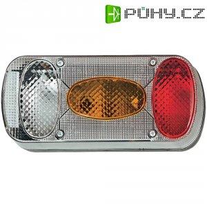 Zadní světlo pro přívěs SecoRüt, 90445, 5komorové, červená/oranžová/transparentní