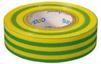Izolační páska 0,13x19mmx10m zeleno/žlutá