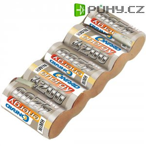 Akupack přijímače NiMH Conrad Energy Sub-C, 6 V, 4200 mAh, Side, s páj. hroty