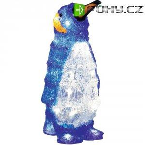 Akrylátový LED tučňák Konstsmide, 24 LED