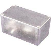 Univerzální pouzdro hliníkové Hammond Electronics, (d x š x v) 116 x 91 x 54,9 mm, hliníková