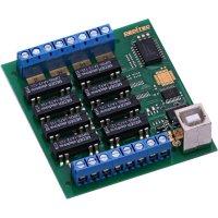 USB modul, Deditec USB-RELAIS-8_A, digitální výstup 8 relé