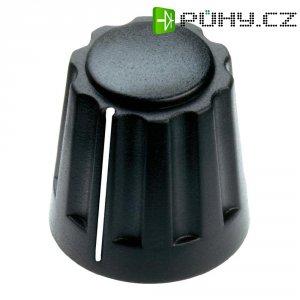Otočný knoflík Mentor 4331.6001, 6 mm, matně černá