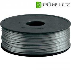 Náplň pro 3D tiskárnu, Renkforce ABS300S1, ABS, 3 mm, 1 kg, stříbrná