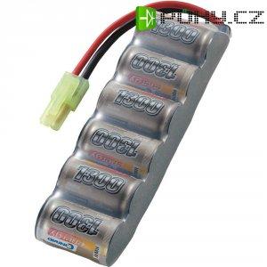 Akupack NiMH (modelářství) Conrad energy 206629, 7.2 V, 1300 mAh