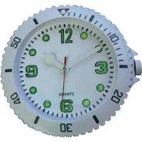 Analogové nástěnné hodiny Sygonix, 81769-00, Ø 30 cm, bílá