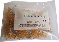 LED 4mm oranžová difuzní LN49YPE, balení 100ks