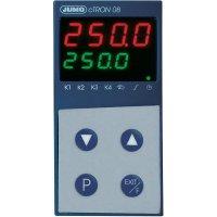 Kompaktní termostat s časovačem Jumo CTRON08, 110-240 V/AC