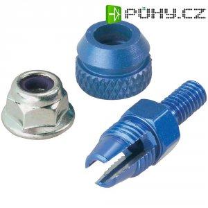 Hliníkový držák antény Reely, Ø 5 mm, modrá
