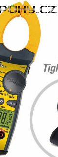 Klešťový multimetr Ideal Electrical TightSight, 61-765, AC/DC