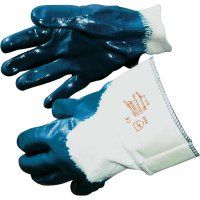 Pracovní rukavice Leipold + Döhle Cross-Nitril1 1451, Nitrilový kaučuk, částečně potažený, velikost rukavic: 10, XL