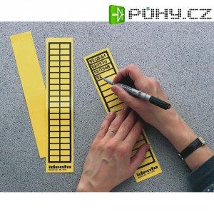 Popisovatelné etikety TE Connectivity 7-1768019-5, 20 x 9 mm, žlutá