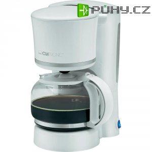 Kávovar Clatronic KA3555, bílá, stříbrná