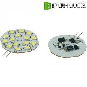 LED žárovka Renkforce, G4, 2,8 W, 30 V, 54,3 mm, studená bílá