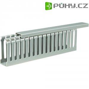 Elektroinstalační lišta, 25x65 mm, 2 m, šedá