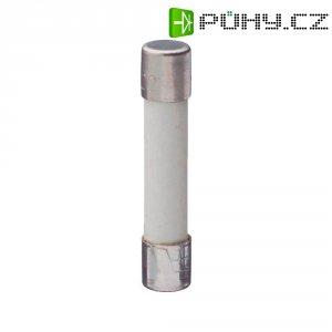 Jemná pojistka ESKA superrychlá GBB 6 A, 250 V, 6 A, keramická trubice, 6,4 mm x 31.8 mm