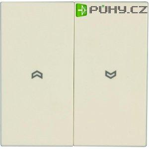 Kryt tlačítka pro ovládání žaluzií Jung, LS 995 P, krémově bílá