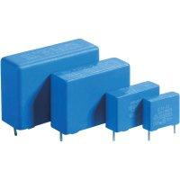 Foliový kondenzátor MKP, 0,33 µF, 275 V/AC, 20 %, 26 x 8,5 x 18 mm