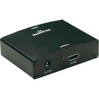 AV konvertor cinch zásuvka, VGA zásuvka ⇒ HDMI zásuvka Manhattan 177351