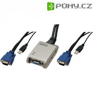 Mini USB KVM přepínač