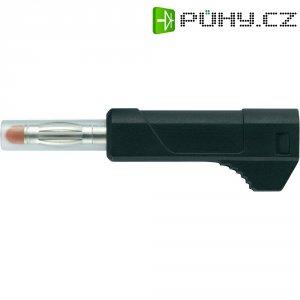 Lamelový konektor miniaturní SCI, zástrčka rovná, (Ø x d) 4 mm x 56 mm, červená